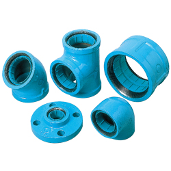 Pipe-End Anticorrosion Fitting for Water Supply Dual-Use Type, Core Fitting, C Core, 5K Flange