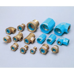 Pipe-End Anticorrosion Fitting for Water Supply Dual-Use Type, Core Fitting, C Core, Reducing Tee