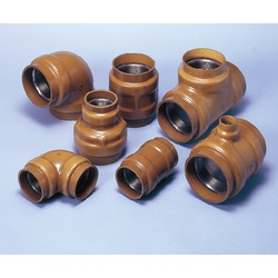 Continuous Feeding Pipe Fitting, Buried Socket