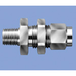 Junron Stainless Steel Fitting Male Bulkhead Union