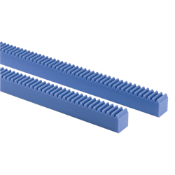 [All Length / Bolt Hole Specifiable] Plastic Rack PR
