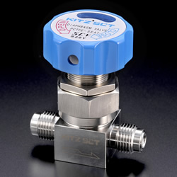 High Purity Gas Valve KD, Diaphragm Valve Straight Type, Manual