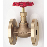 General Purpose Bronze 10K Globe Valve Flange
