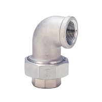 Stainless Steel Union Elbow Screw Fitting