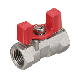 Stainless Steel General Purpose Type 600 Threaded Ball Valve (with Butterfly Shaped Handle)