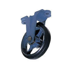 Casting Caster (Rubber Wheel) Fixed Type