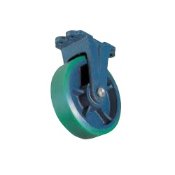 Casting Caster (Urethane Wheel, Wide Type) Fixed Type