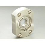 Bearing Housing Set Snap Ring Type Elliptical (Stainless) BERS