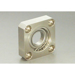 Bearing Holder Set, Retainer Ring Type, Square Shape (Stainless Steel) BSRS