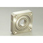 Bearing Holder Set, Directly Mounted Type, Square Round (Stainless Steel) BSS