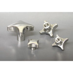 Stainless Steel Cross Knob CK-sus, CK-L-sus
