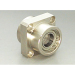 Bearing Housing Set Encased Double Snap Ring Type Square (Stainless) DSIS