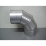 Stainless Steel Duct Fitting 90° Section Bend