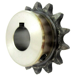 Standard Sprocket Model 35B, Semi-F Series, Shaft Hole Machining Completed (New JIS Key)