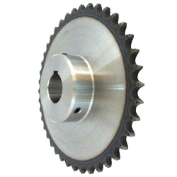 Standard Sprocket Model 50B, Semi-F Series, Shaft Hole Machining Completed (New JIS Key)