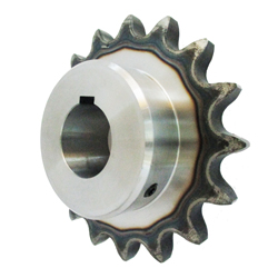 Standard Sprocket 100B, Model C Semi-F Series, Shaft Hole Machining Completed (New JIS Key)