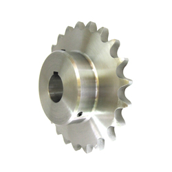 Standard 2080 Double Pitch Sprocket, B Type for S Rollers, Semi-F Series, Shaft Hole Machining Completed (New JIS Key)