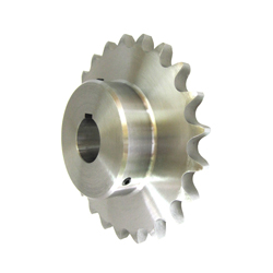 Standard 2100 Double Pitch Sprocket, B Type for S Rollers, Semi-F Series, Shaft Hole Machining Completed (New JIS Key)