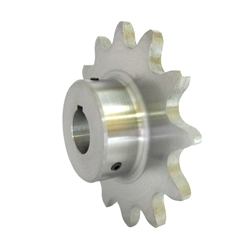 Standard 2062 Double Pitch Sprocket, R Roller B Type, Semi F Series, Shaft Holes Already Established (New JIS Key)
