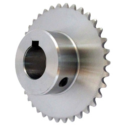 Standard Sprocket Model 25B, Semi-F Series, Shaft Hole Machining Completed (New JIS Key)