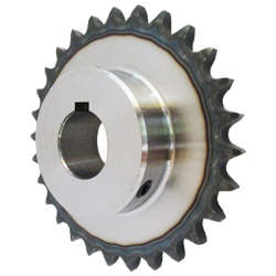 Standard Sprocket Model 410B, Semi-F Series, Shaft Hole Machining Completed (New JIS Key)
