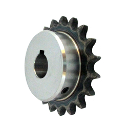 K50 sprocket old type B semi F series with machined shaft holes (New JIS key)