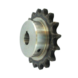 K80 sprocket old type B semi F series with machined shaft holes (New JIS key)