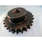 HG High-Grade Tooth Tip Curing Sprocket Model HG40-2B, Semi-F Series, Shaft Hole Machining Completed (New JIS Key)