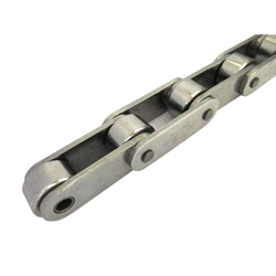 Double pitch roller chain stainless steel