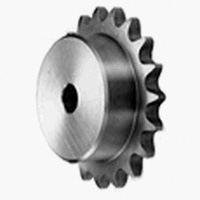 SUS Standard Stainless Steel 2040, Double Pitch Sprocket, Model B for S Rollers