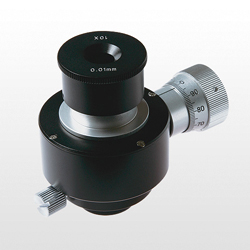 Movable Micro-Measurement Eyepiece