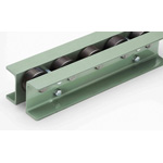 Wheel Conveyor with Standard Bearings (HW-76DS) Width 30 x Diameter 76.3 x Overall Height 105