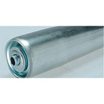 Steel taper roller (roller for conveyor)  S Series (R500)  diameter φ 42.7 x width 305-690