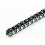 Composite Rubber Lining Wheel Conveyor (W-3812R) Width 28 x Diameter 38 x Overall Height 43
