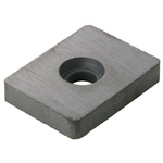 Anisotropic Ferrite Magnet Square Type (with Holes)
