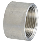 Stainless Steel, Screw-In Pipe Fitting, Half-Straight Socket [HS]