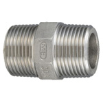 Stainless Steel, Screw-In Tube Fitting, Hexagonal Nipple [SN]