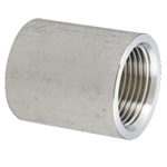 Stainless Steel Screw-In Pipe Fitting, Straight Heavy Socket [SJ]