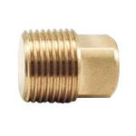 Auxiliary Material for Piping, Fitting, and Plumbing, Fitting for Water Supply Piping, Brass Plug