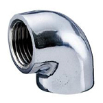 Auxiliary Material for Piping, Fitting, and Plumbing, Fitting for Water Supply Piping, Plated Fittings - Elbow