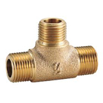 Auxiliary Material for Piping, Fitting, and Plumbing, Fitting for Water Supply Piping, Gunmetal Outer Screw Tees
