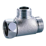Auxiliary Material for Piping, Fitting, and Plumbing, Plated Fittings - One Side Nut Tees M149GMS