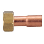 Copper Tube Fitting, Copper Tube Fitting for Hot Water Supply, Copper Tube Socket Adapter