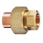 Copper Tube Fitting, Copper Tube Fitting for Hot Water Supply, Copper Tube Union