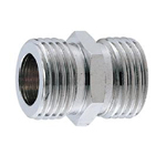Auxiliary Material for Piping, Fitting, and Plumbing, Fitting for Water Supply Piping, Plated Fittings - Parallel Nipples for Flexible Pipes