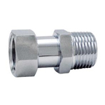 Auxiliary Material for Piping, Fitting, and Plumbing, Fitting for Water Supply Piping, Adapter with Cap Nut - S2VAA