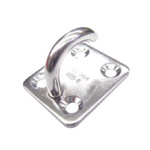 Stainless Steel Open Eye Plate