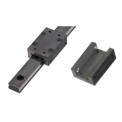 Simplified Linear Guides/Steel/With Ball Rollers