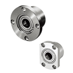 Low Dust Raise Greased Bearings with Housings - Double Bearing