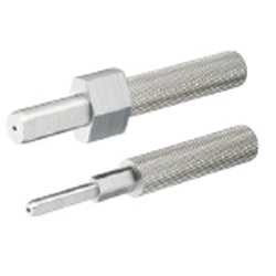 Slot Pins for Inspection Jigs/Stepped Diamond/Straight Type